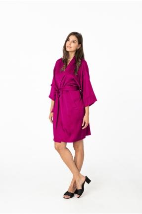 Kimono fucsia