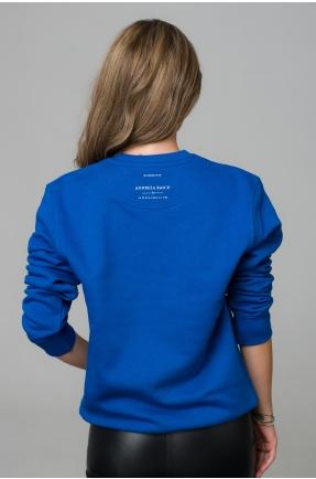 Hanorac albastru I am enough
