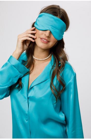 Masca pentru dormit albastra