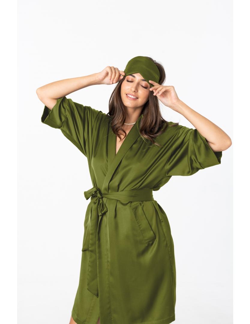 Masca pentru dormit verde fistic