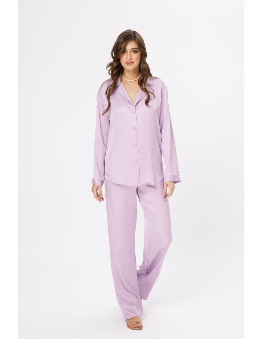Pantaloni lungi lila