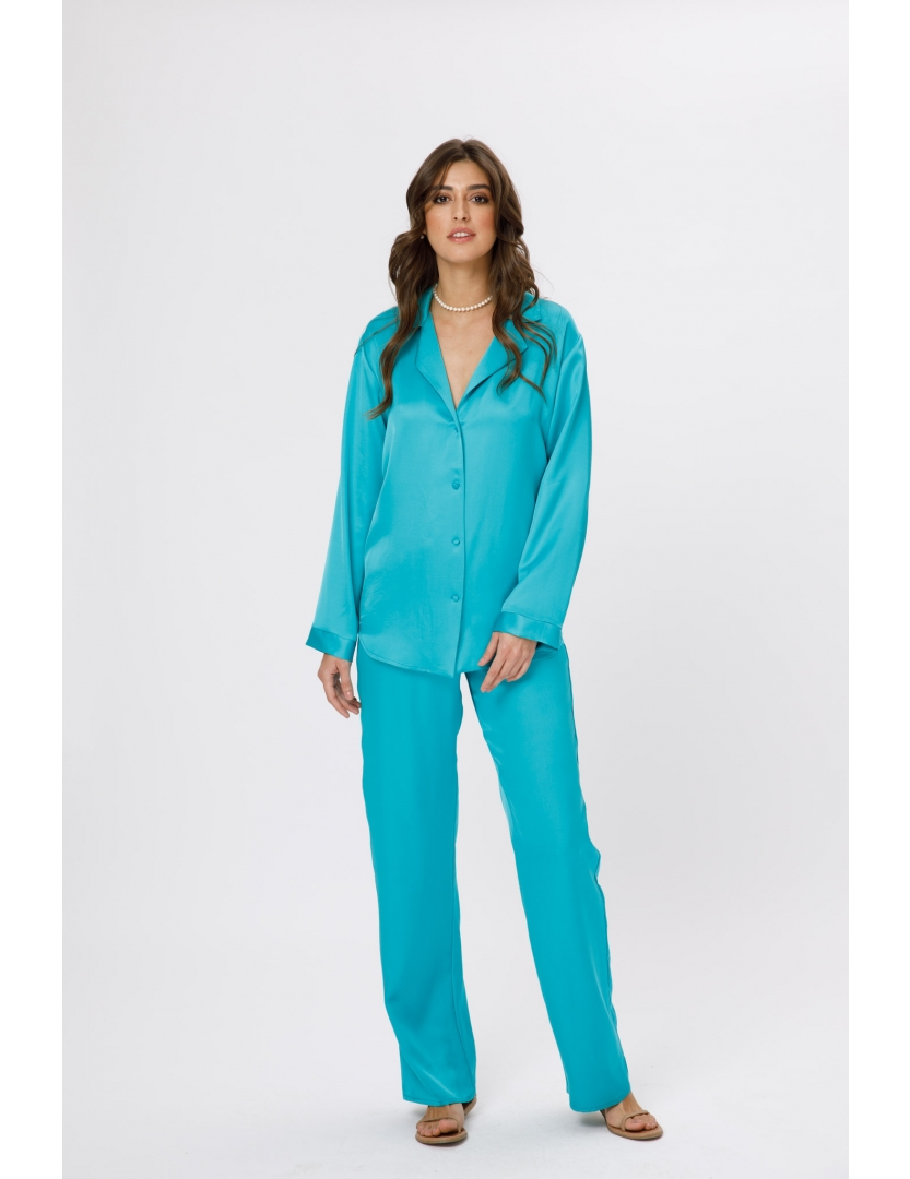 Pantaloni lungi albastri