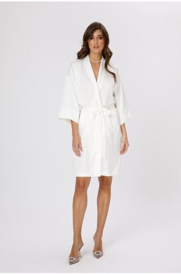 Kimono alb